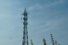 cloud, tower, spire, sky, antenna,