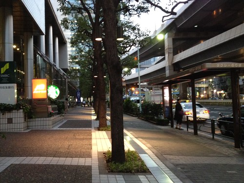 ANAインターコンチネンタルホテルから外へ by haruhiko_iyota