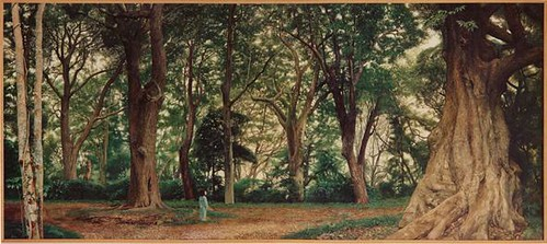常緑の森 110 ×250 1989 ab
