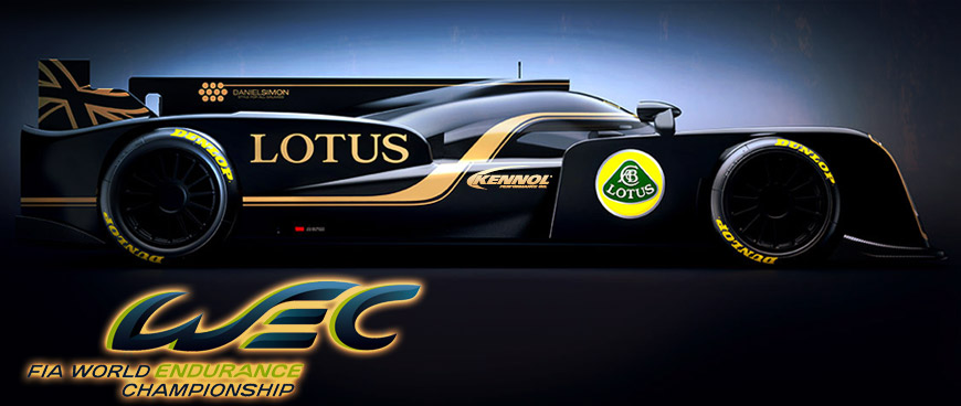 The amazing Lotus T128 sponsored by KENNOL