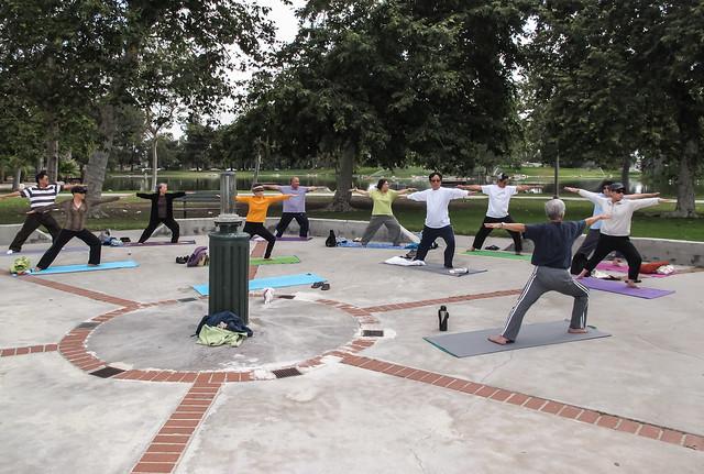 2013-06-10 Yoga Mile Square Park-2088
