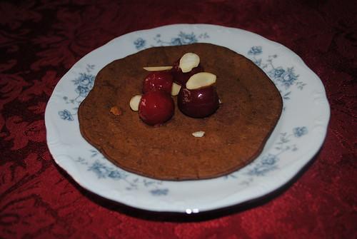 chocolate cherry almond pancakes (4)