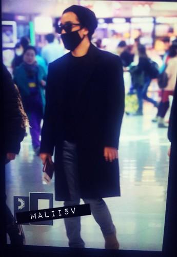 Big Bang - Incheon Airport - 21mar2015 - Seung Ri - MALII5V - 03