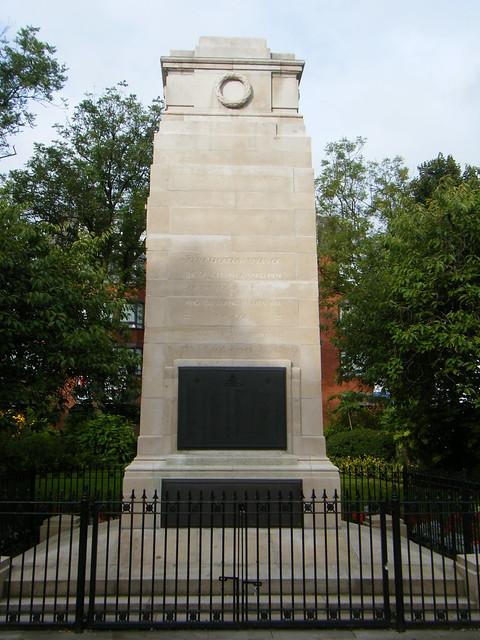 Bolton, Lancashire - cenotaph