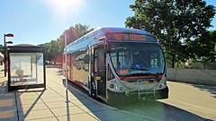 WMATA Metrobus 2014 NABI 42 BRT Hybrid #8095