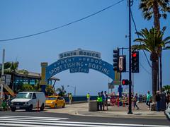 Santa Monica Pier Entrance Gate