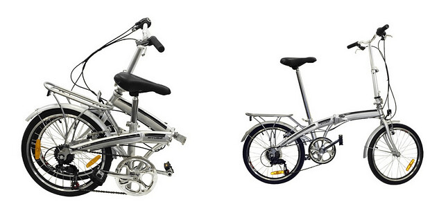 Bicicleta eléctrica Blanca