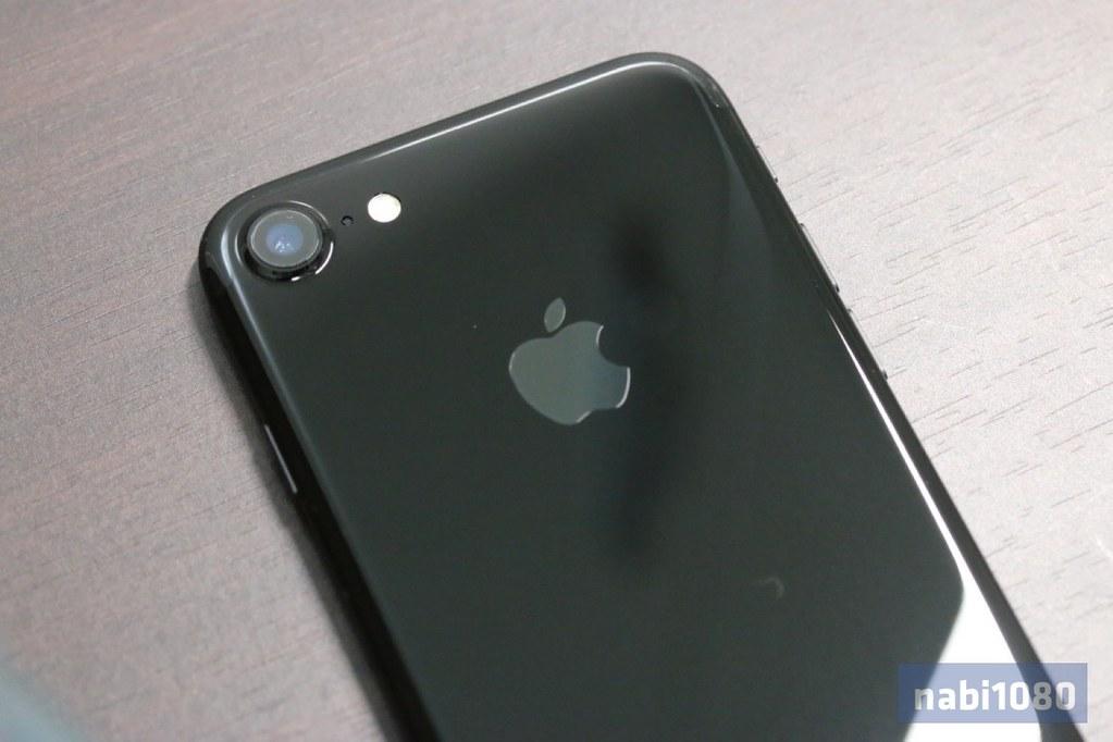 iPhone 7 ジェットブラック07