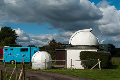 Mini observatory on the London Loop