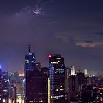 25. September 2016 - 18:10 - Lightning in Makati City, Philippines