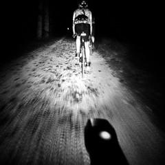 Gravelling at night