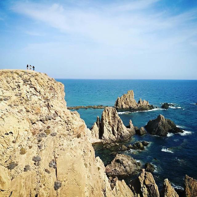 Arrecife de las sirenas - Cabo de Gata - Almeria