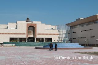 Nukus museum area