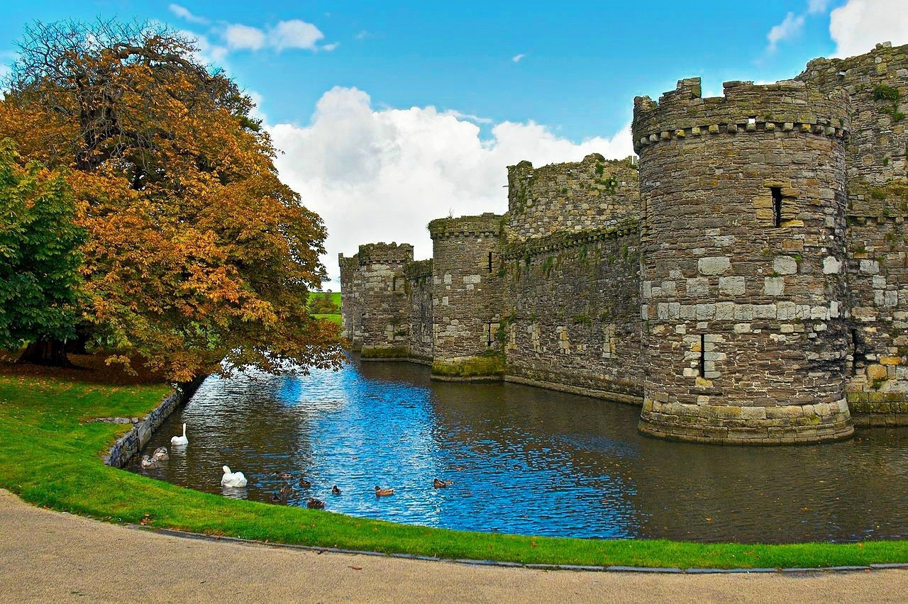 Beaumaris Castle. Credit Stuart