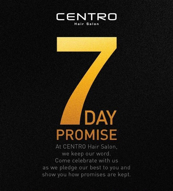 1 Centro hair salon - 7 days promise