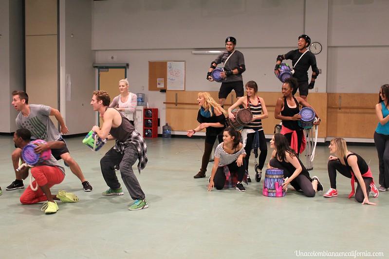 Disneyland rehearsal