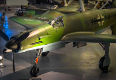 WWII German Luftwaffe Fighter Dornier Do 335 A-0 at National Air and Space Museum - Steven F. Udvar-Hazy Center - Chantilly VA