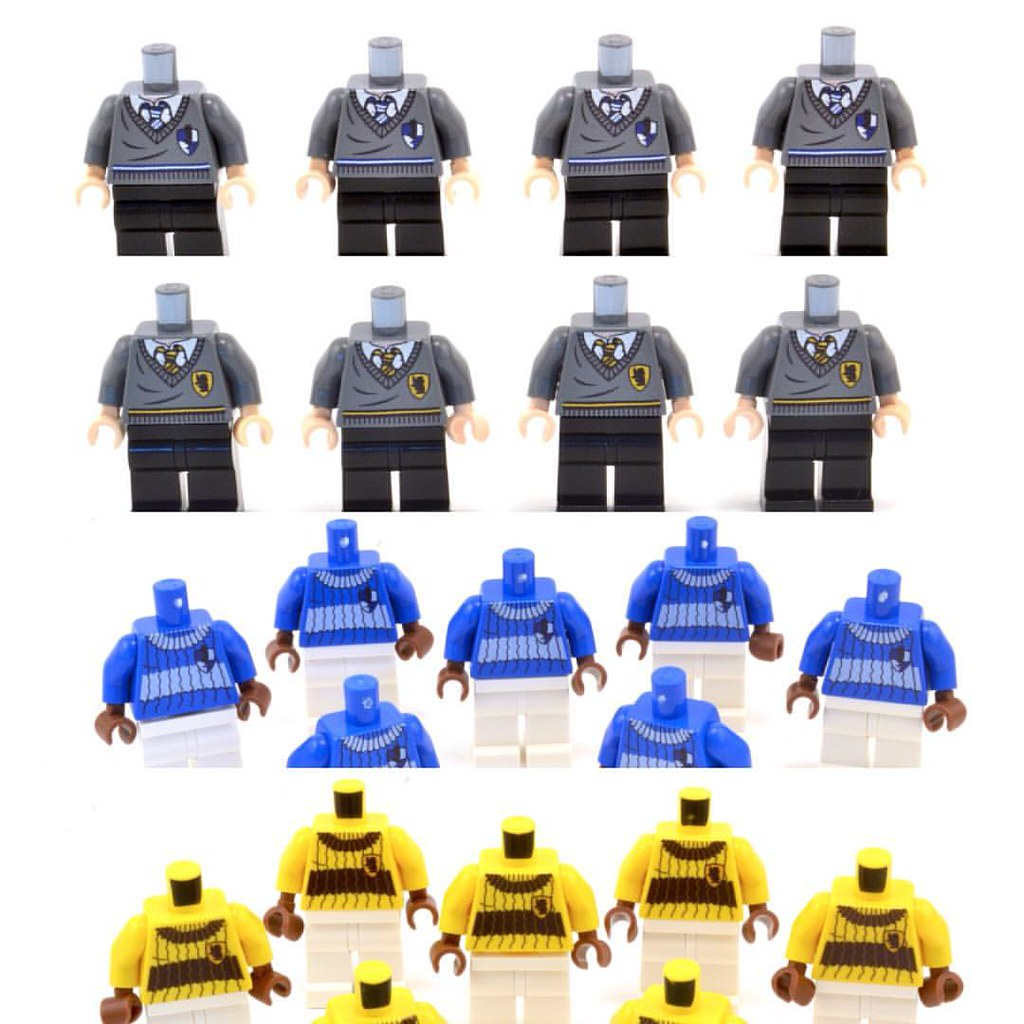 Ravenclaw and Hufflepuff torsos? - Minifig Customisation