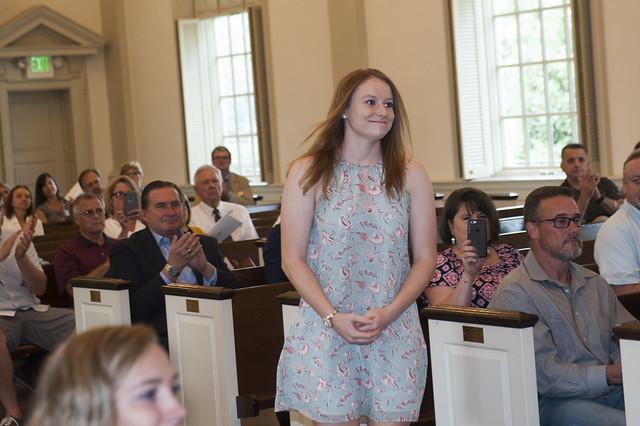 Sommerville Scholar, Brooke Thompson