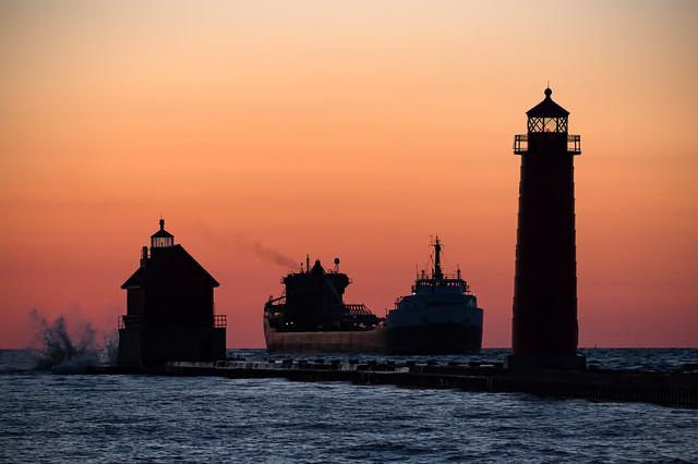 Splitting the Lighthouses