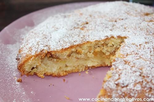 Tarta sueca de manzana www.cocinandoentreolivos (3)