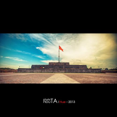 landscape gate vietnam hue