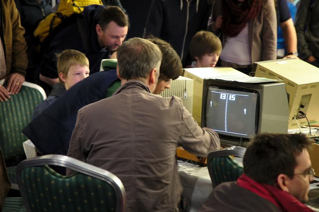 Maker Faire UK 2013 - TNMOC Pong