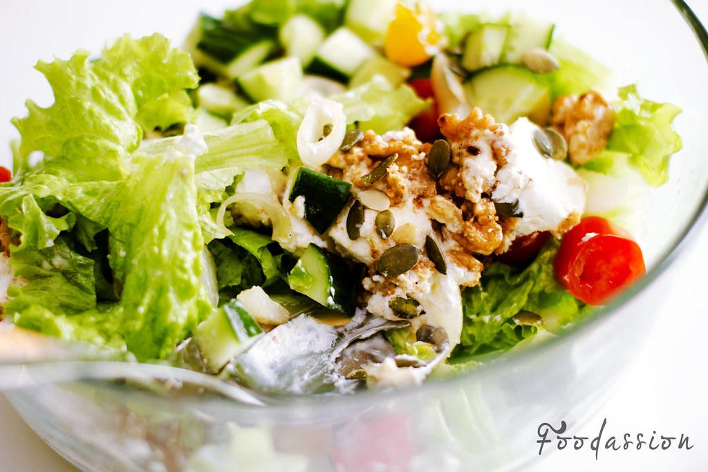 Salaatin annostelu