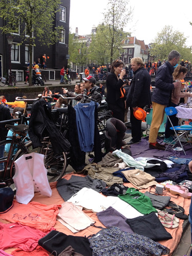 Queensday street stall