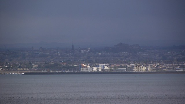 Edinburgh from the other side of the Forth 03