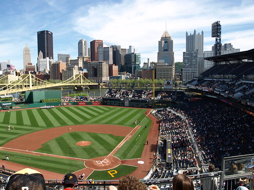 PNC Park, section 318, row H