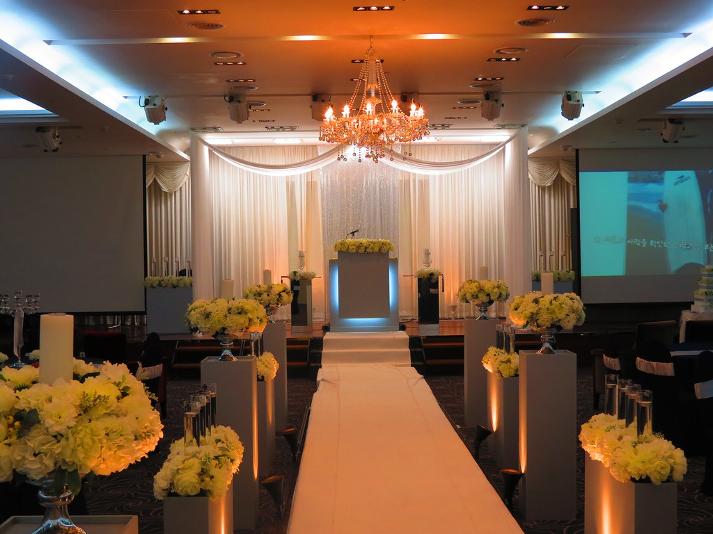 Korean wedding ceremony hall