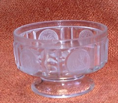 Coin Sauce Dish with Liberty Seated Coin design