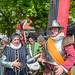 Historisch geklede mensen