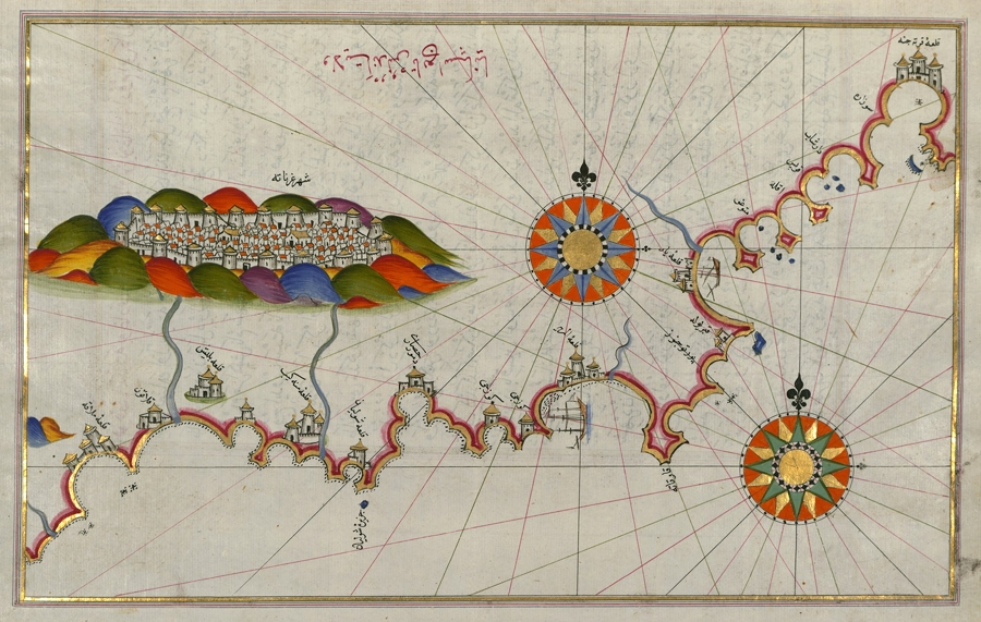 The Maps of Piri Reis  The Public Domain Review