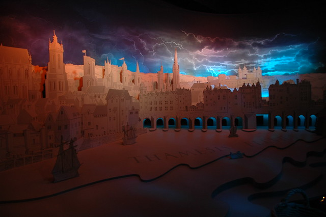 Model of London during Shakespeare's Time