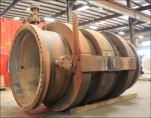 "59"" Dia. Single Hinged Expansion Joint Refurbished in Two Weeks"