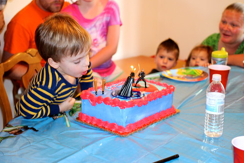Colin's 4th Birthday