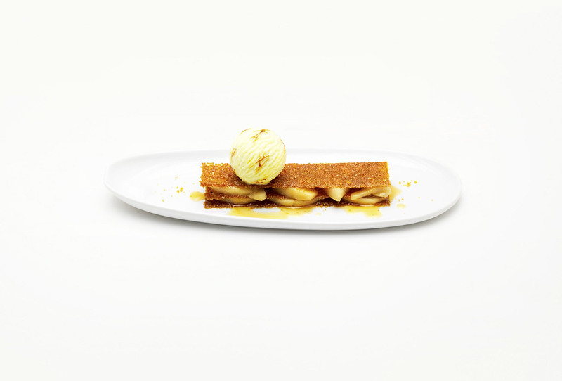 Mille-feuilles nougatine