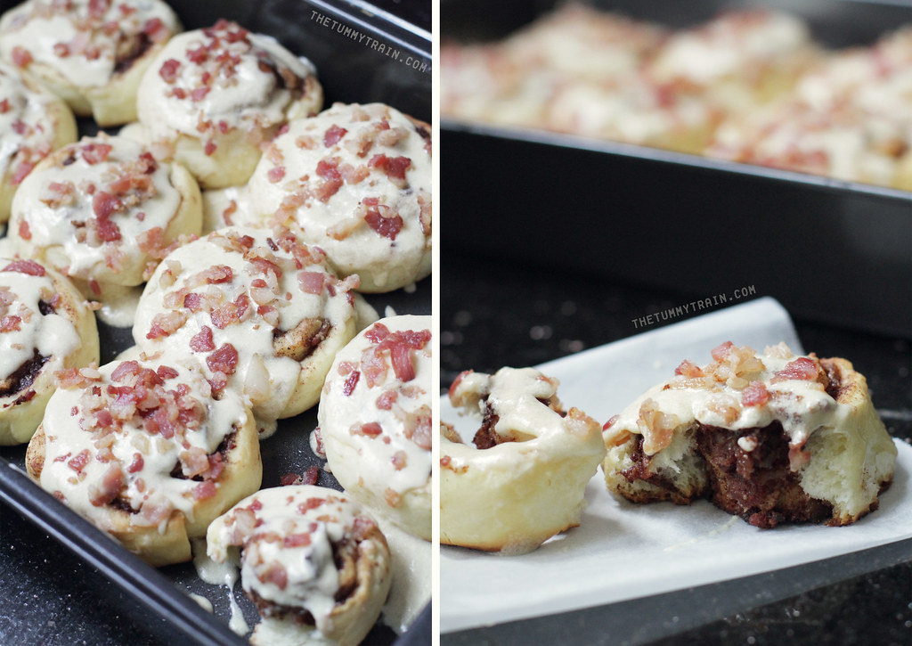 10227199924 96998ca5aa b - The bacon-lover's cinnamon rolls