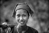 Vietnam: jeune femme; ethnie des Lolo Noir.