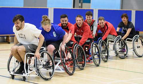 Wheelchair Basketball at the Centre for Sport