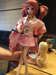 Today's doll meet. #bjd #dollfiedream #smartdoll #dollmeet