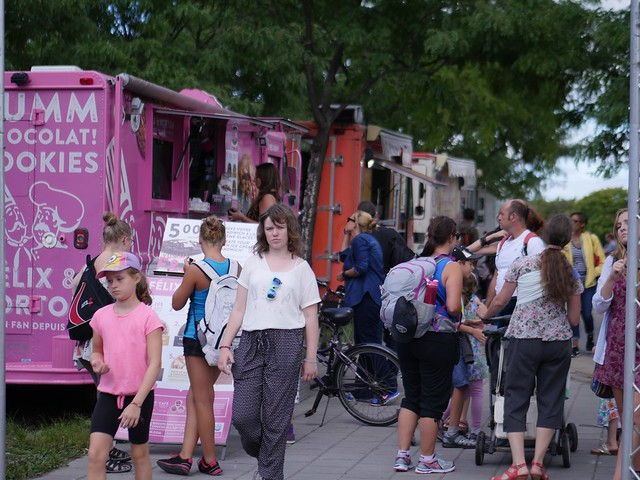 Montreal, Food Trucks, Tourism, Panasonic DMC-GX8, Lumix G 42.5mm F1.7 Asph. Power OIS