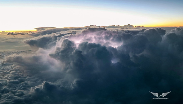 Thunderstorm aerial