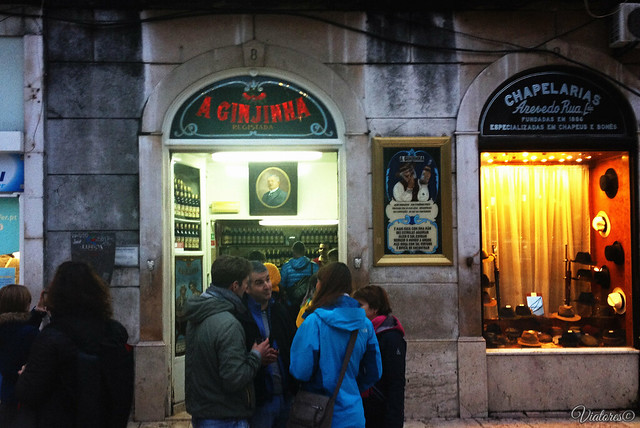 Ginjinhan Bar. Lisbon. Portugal