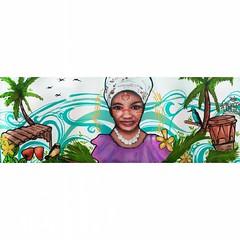 Así o más Pacífico? Trabajo realizado para hotel Gaviva2 en el municipio de #Lópezdemicay  visualagp 2016 #pacificocolombiano    #streetartcolombia #streetart #spraypaint #streetartcali #graffitiart #streetarteverywhere #paint #wall #graff #artecallejero