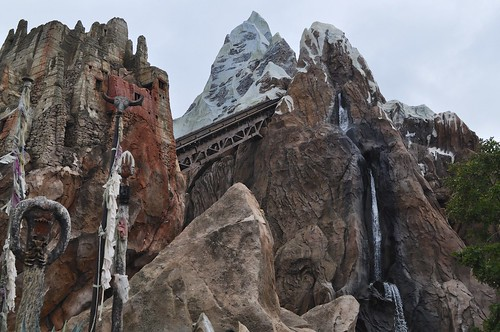 Exploring the Mountain - Everest On-Ride