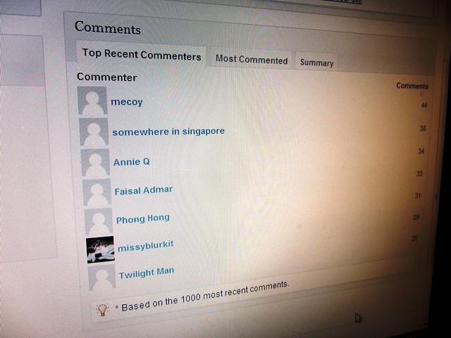 Commenters