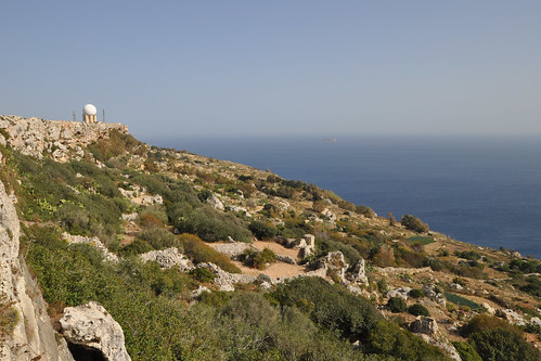 Dingli cliffs and radar station